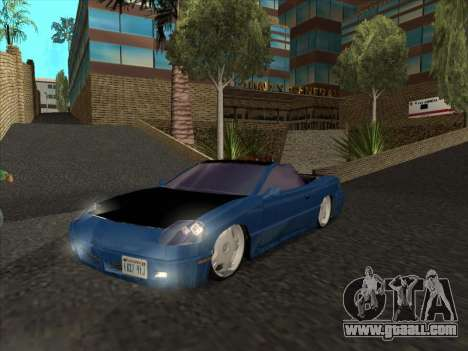 Alpha HD Cabrio for GTA San Andreas