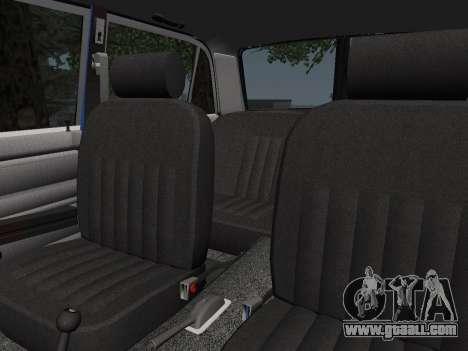 VAZ 21061 for GTA San Andreas upper view