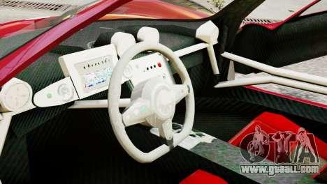 Pagani Zonda Autosport for GTA 4 right view