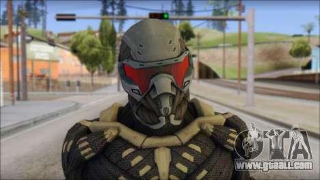 NanoSuit Skin for GTA San Andreas third screenshot