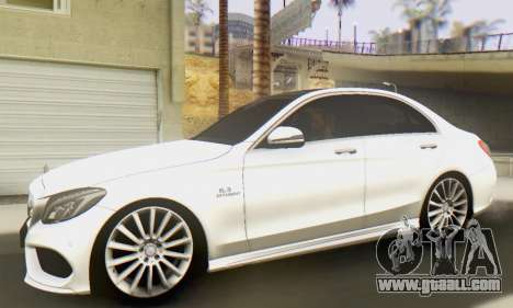 Mercedes-Benz C250 AMG for GTA San Andreas left view