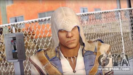 Connor Kenway Assassin Creed III v1 for GTA San Andreas third screenshot