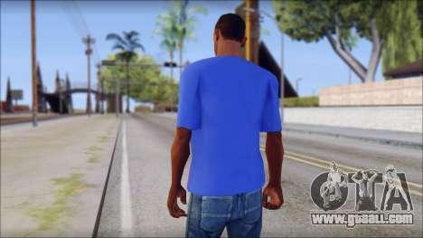 Black Sabbath T-Shirt v3 for GTA San Andreas second screenshot