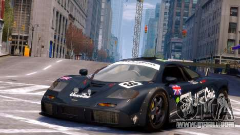 McLaren F1 GTR for GTA 4