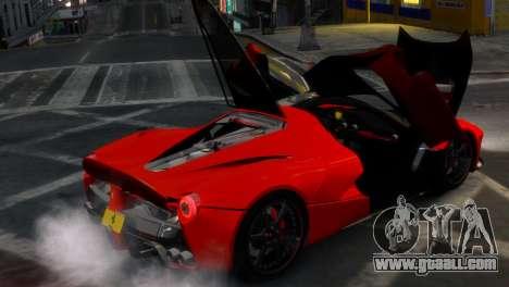 Ferrari LaFerrari WheelsandMore Edition for GTA 4 side view