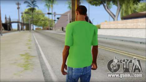 Pozilei T-Shirt for GTA San Andreas second screenshot