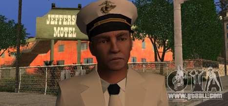 Navy Officer for GTA San Andreas third screenshot