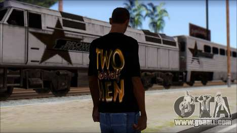 Two and a half Men Fan T-Shirt for GTA San Andreas second screenshot