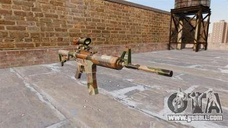 Automatic carbine MA Mercury Camo for GTA 4