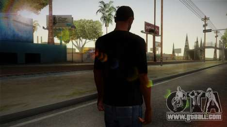 Zombie Polo Shirt for GTA San Andreas second screenshot