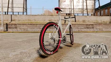 GTA V Endurex Race Bike for GTA 4 back left view