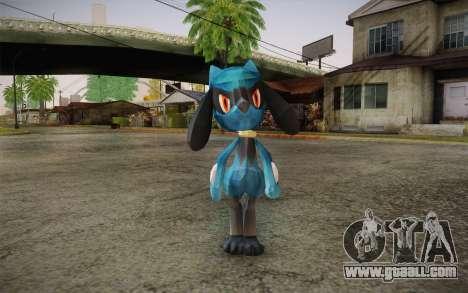 Riolu from Pokemon for GTA San Andreas