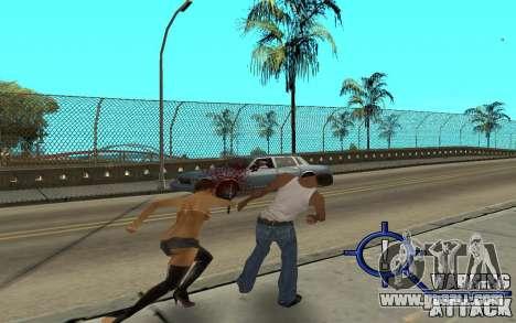 Warning Attack for GTA San Andreas