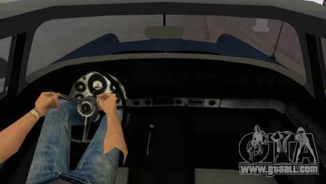 Ford Thunderbird for GTA Vice City back left view
