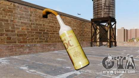 The Molotov cocktail-Barley spike- for GTA 4 second screenshot