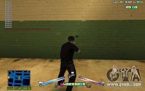 C-HUD Expert for GTA San Andreas third screenshot