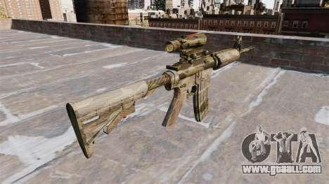 Automatic carbine MA Flora Camo for GTA 4 second screenshot