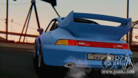 Porsche 911 GT2 (993) 1995 V1.0 SA Plate for GTA San Andreas interior