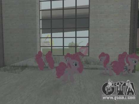 Pinkie Pie for GTA San Andreas fifth screenshot