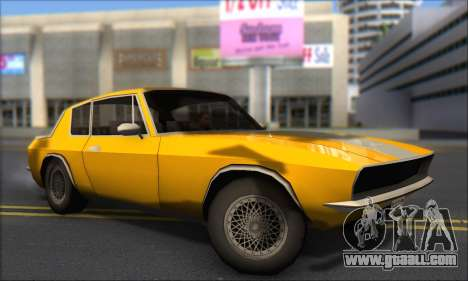 Jensen Intercepter 1971 Fast And Furious 6 for GTA San Andreas