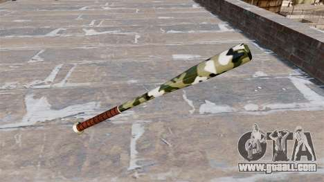 Baseball bat Camo A013 for GTA 4 second screenshot