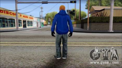 Jimmy from Bully Scholarship Edition for GTA San Andreas third screenshot