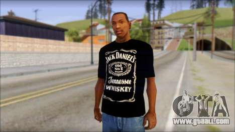 Jack Daniels T-Shirt for GTA San Andreas