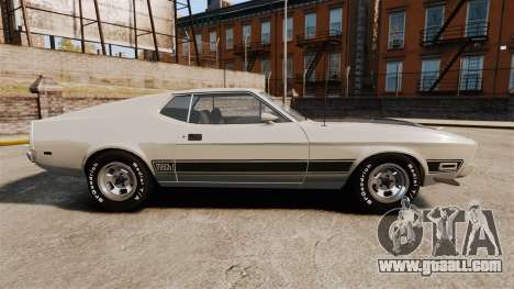 Ford Mustang Mach 1 1973 v3.0 GCUCPSpec Edit for GTA 4 left view