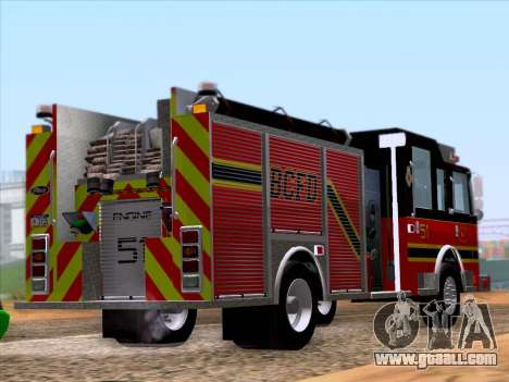 Pierce Arrow XT 2009 BCFD for GTA San Andreas right view