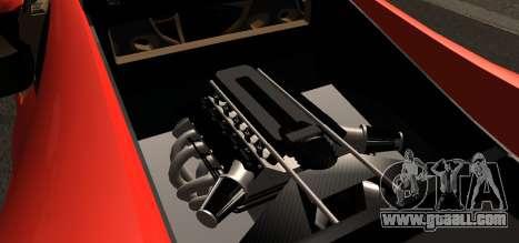 Spano Black for GTA San Andreas right view