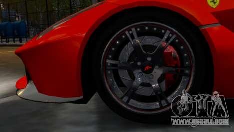 Ferrari LaFerrari WheelsandMore Edition for GTA 4 back view