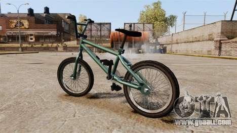 GTA V BMX for GTA 4 left view