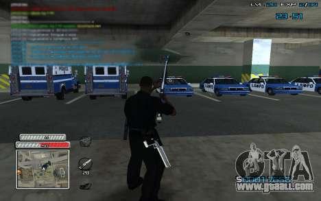 New C-HUD v.2 for GTA San Andreas third screenshot