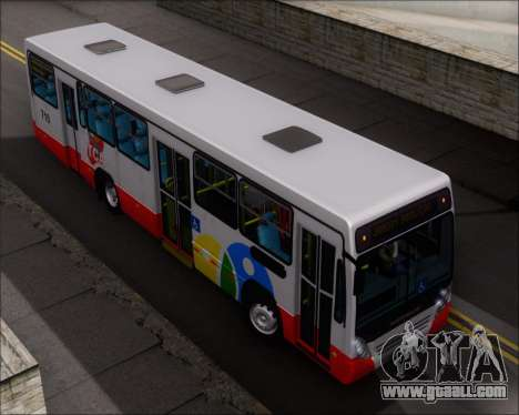Neobus Mega IV - TCA (Araras) for GTA San Andreas upper view
