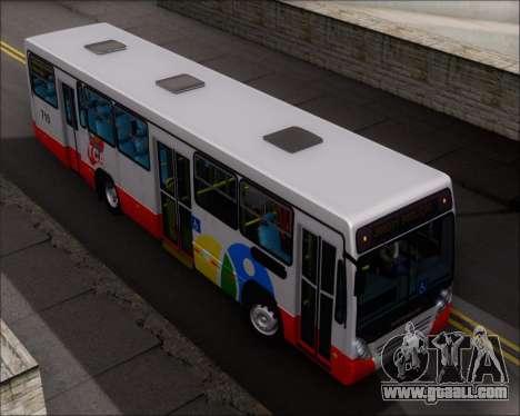 Neobus Mega IV - TCA (Araras) for GTA San Andreas upper view