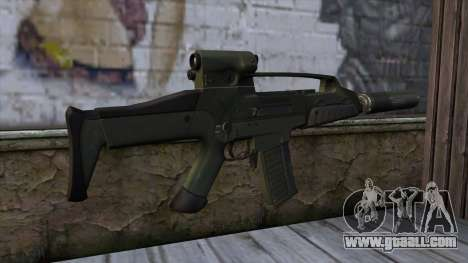 XM8 Compact Green for GTA San Andreas second screenshot