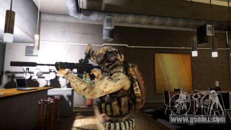 M4A1 V1.1 for GTA 4 second screenshot