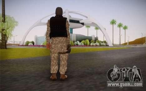Fuerzas Especiales for GTA San Andreas second screenshot
