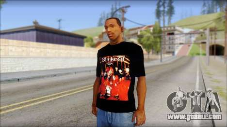 SlipKnoT T-Shirt mod for GTA San Andreas