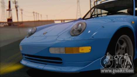 Porsche 911 GT2 (993) 1995 V1.0 SA Plate for GTA San Andreas inner view