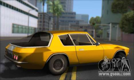 Jensen Intercepter 1971 Fast And Furious 6 for GTA San Andreas back left view
