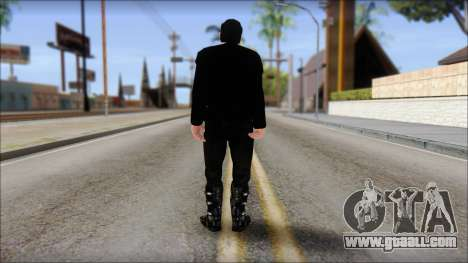 Till Lindemann Skin for GTA San Andreas second screenshot