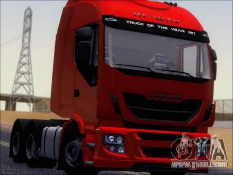 Iveco Stralis HiWay 560 E6 6x4 for GTA San Andreas