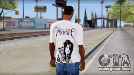 BFMV Russian Roulette T-Shirt for GTA San Andreas second screenshot