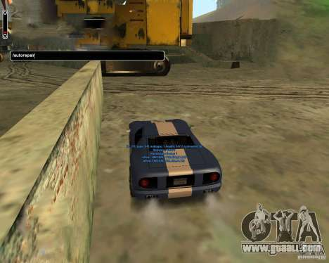 Autorepair for GTA San Andreas third screenshot