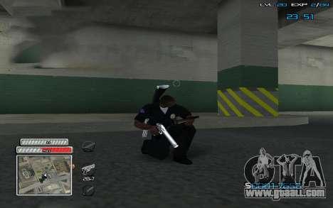 New C-HUD v.2 for GTA San Andreas second screenshot