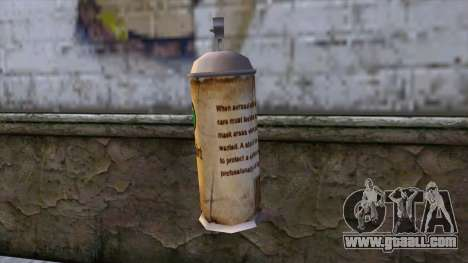 Spraycans from Bully Scholarship Edition for GTA San Andreas