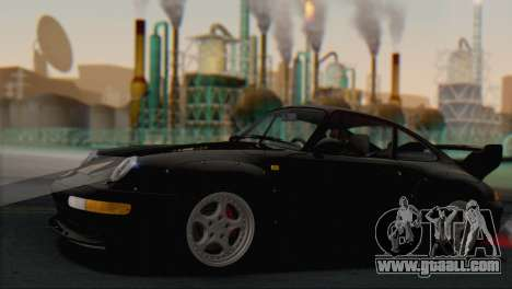 Porsche 911 GT2 (993) 1995 V1.0 SA Plate for GTA San Andreas engine