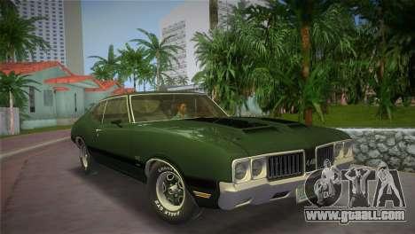 Oldsmobile 442 1970 for GTA Vice City