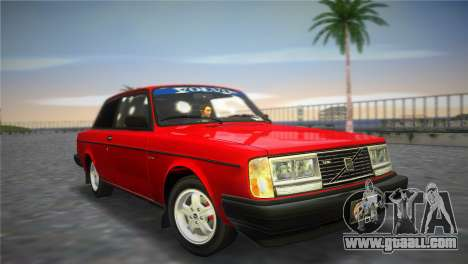 Volvo 242 Turbo Evolution for GTA Vice City
